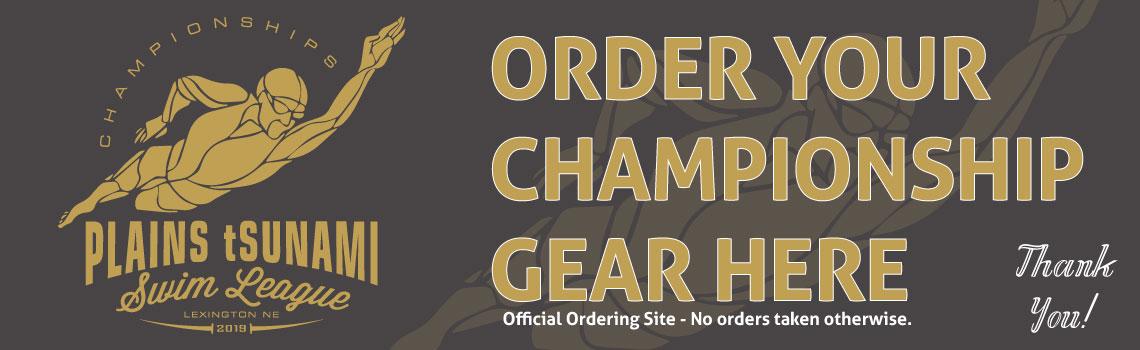 Order Championship Shirts